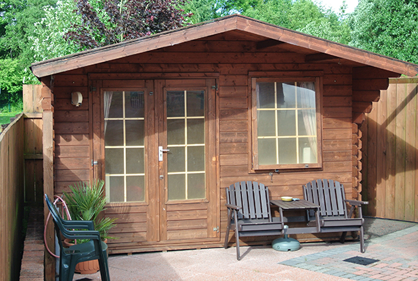 cabin-outside
